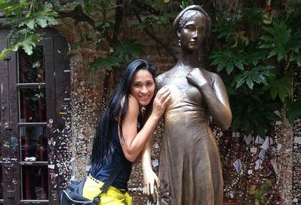 Жаклин Карвальо се снима с Жулиета (СНИМКИ)