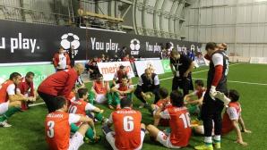 България отпадна от Европейското по мини футбол