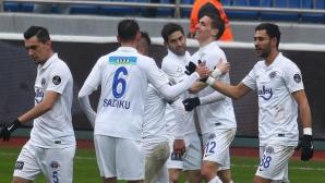 Страхил Попов със силни 90 минути за Касъмпаша