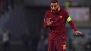 Де Роси подписва нов договор с Рома