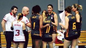 Христина Русева и Галатасарай завършиха с победа редовния сезон в Турция