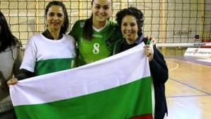 Отличен дебют и страхотно посрещане за Весела Бончева в Испания (снимки)