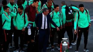 Кристиано се завърна на остров Мадейра с купа в ръцете