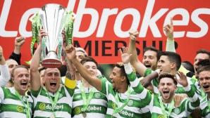 Селтик с историческо постижение в Шотландия