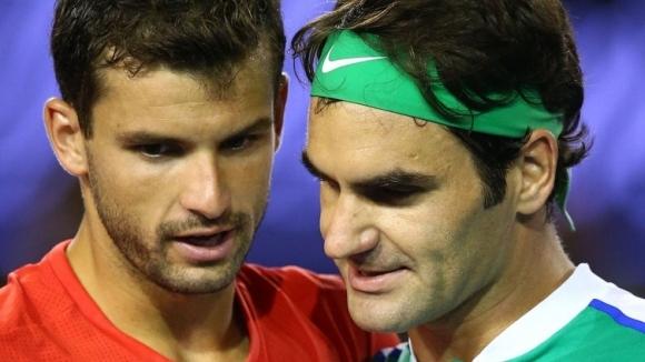 """Избраха Григор - Федерер за втория най-добър мач на """"Уимбълдън"""""""