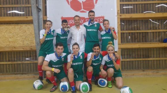 Сребро и бронз за българските отбори на европейското по стрийт футбол