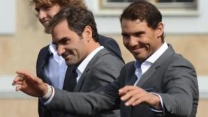 Федерер и Надал украсяват Laver Cup с мач на двойки