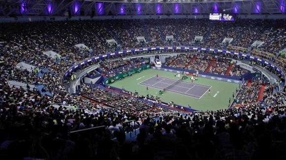 Григор е в центъра на събитията в Шанхай в последните азиатски тенис спирки