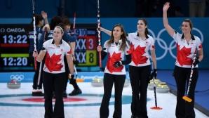 Олимпийският и световен шампион Канада победи Япония