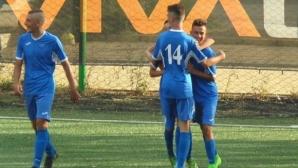 Левски вкара четири гола във вратата на сина на Вили Вуцов
