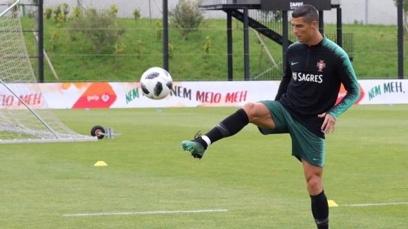 Роналдо е доволен от условията на базата на тима в Кратово