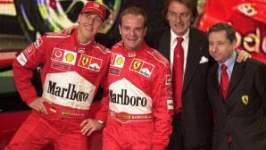 """Монтедземоло смята, че Маркионе """"завижда"""" за старите успехи на Ферари"""