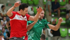 Минчев тества висок американец срещу Тунис