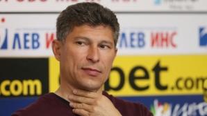 Балъков обяви, че ще стиска палци Ел Маестро да успее
