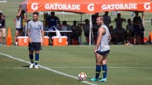 Сарате дебютира с два гола за Бока Хуниорс