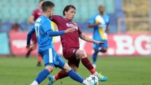 Верея и Септември слагат точка на първия кръг в Първа лига