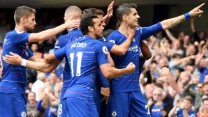 """Атаката на Челси победи тази на Арсенал в спектакъл с пет гола на """"Стамфорд Бридж"""" (видео)"""