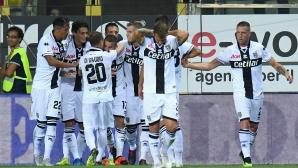 Парма се завърна в Серия А с равенство