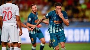 Атлетико бързо преодоля лошото начало срещу Монако (видео + галерия)