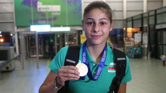 Александра Начева: На Младежката олимпиада се целя в първото място