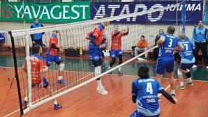 Виктория Волей спечели четвърта победа във Висшата лига