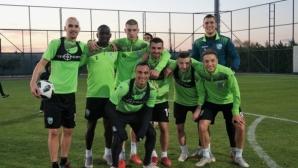 Берое продължава с тренировките в Турция