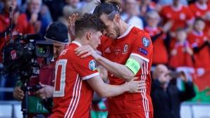 Уелс тръгна с победа с огромната заслуга на Уейн Хенеси (видео)
