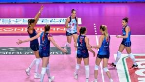 Ели Василева и Скандичи с драматична загуба в полуфиналните плейофи (снимки)