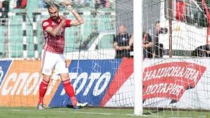 Има ли нещо съмнително? Ето как паднаха четирите гола на Черно море - ЦСКА-София 1:3 (видео)