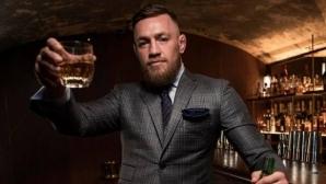 Макгрегър иска да е световен шампион по... производство на уиски