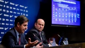 Барса представи бюджет с приходи, надхвърлящ милиард евро