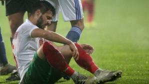 11-те на България срещу Парагвай, пълен дебютант е титуляр