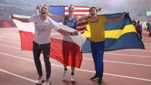 Тримата световни медалисти в овчарския скок се срещат в Дюселдорф