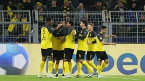 Борусия (Дортмунд) страда на два терена днес, но постигна голямата цел