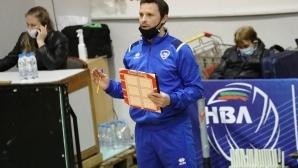 Андрей Жеков: Доволен съм, беше важно да запишем първа победа (видео)