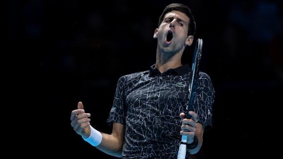 Лесен успех на Джокович в старта на финалния турнир в Лондон